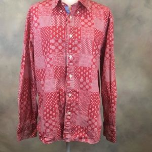 Tommy Hilfiger L fitted button down shirt